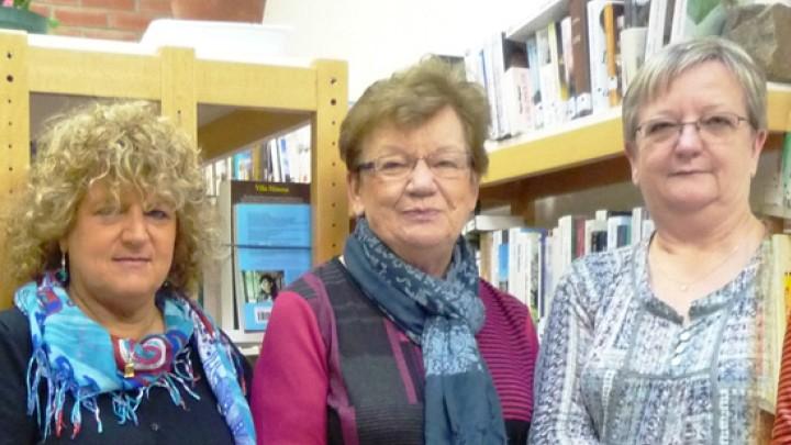 Les bénévoles de la bibliothèque